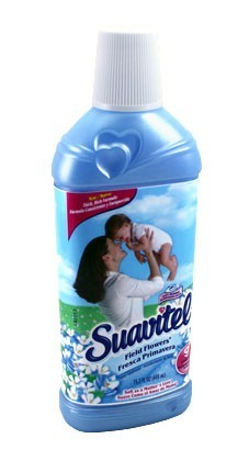 Suavitel Liquid Fabric Softener-Field Flowers 450ml (15.2 oz) - 12 count