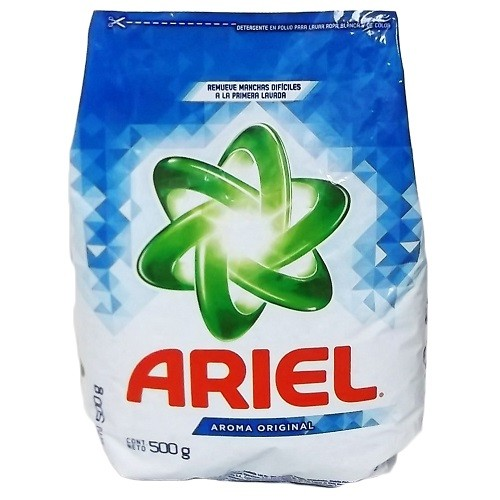Ariel Powder 500G 18 Count Mexican Soap Laundry