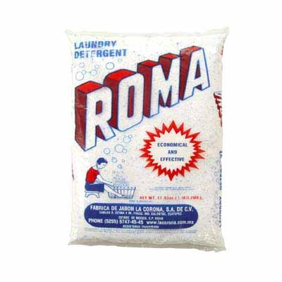 Roma Detergent 500g 36 Count Mexican Soap Laundry