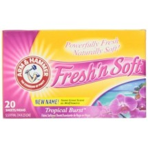 Arm & Hammer Wildflower Dryer Sheets (20 sheets) - 12 count