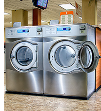Vended Laundry Washers